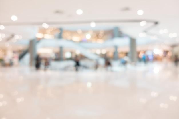 Centro commerciale astratto sfocatura e negozio al dettaglio Foto Gratuite