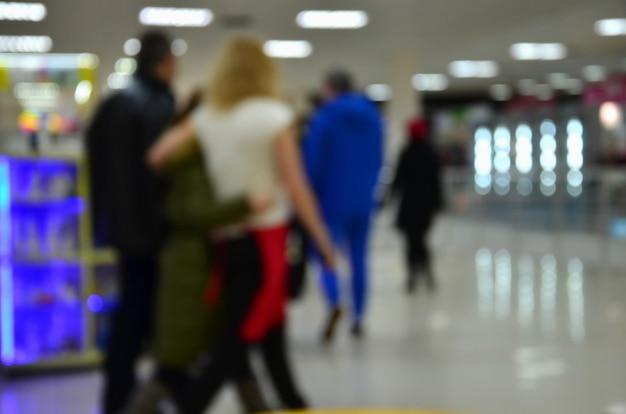 Centro commerciale interno Foto Premium