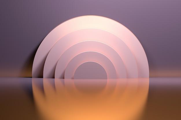 Cerchi d'anelli d'oro Foto Premium