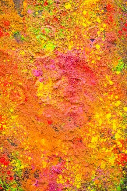 Cerchio stampato su polvere arancione Foto Gratuite