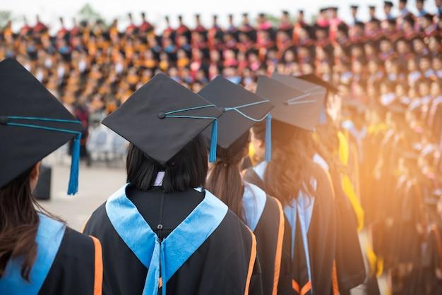 Cerimonie di laureati Foto Premium