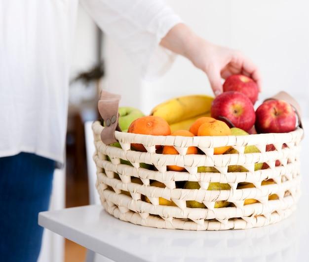 Cesto di frutta Foto Gratuite