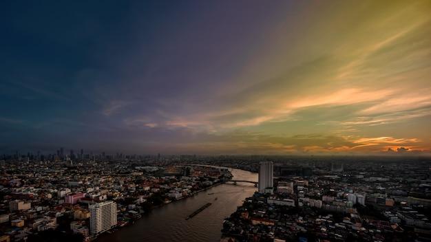 Chao phraya river. Foto Premium