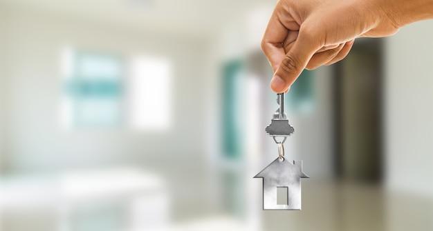 Chiave di casa Foto Premium