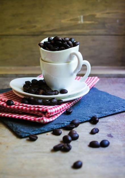 Chicchi di caffè Foto Premium