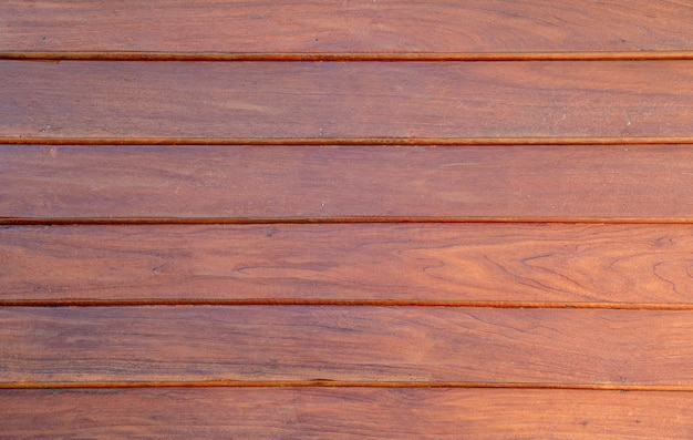 Chiuda sulla parete di legno marrone Foto Premium