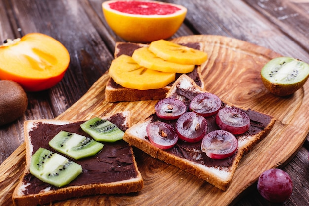 Idee Per Pranzi Sani : Cibo fresco gustoso e sano idee per il pranzo o la colazione pane