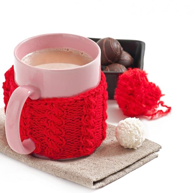 Cioccolata calda con marshmallow Foto Gratuite