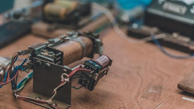 Circuito del caricabatterie Foto Premium