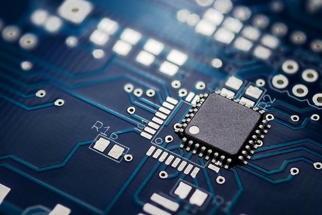 Circuito stampato e chip Foto Premium