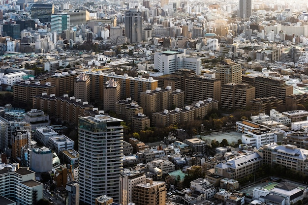 Città di tokyo, giappone Foto Premium