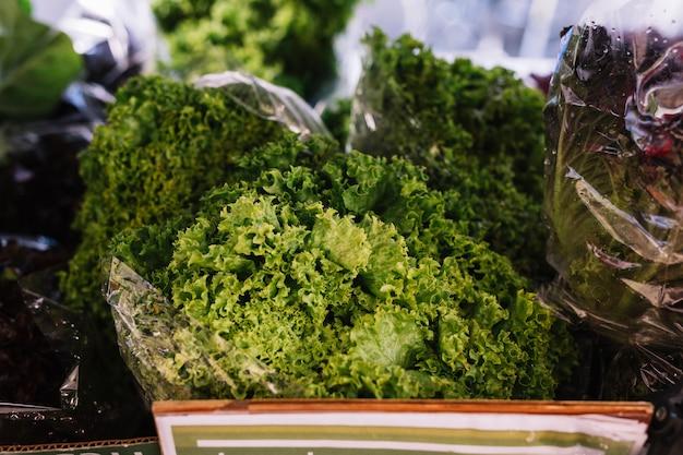 Close-up di cavolo verde Foto Gratuite