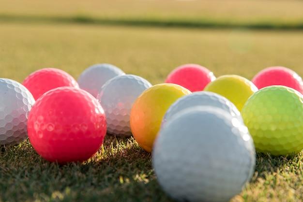 Close-up palline da golf Foto Gratuite