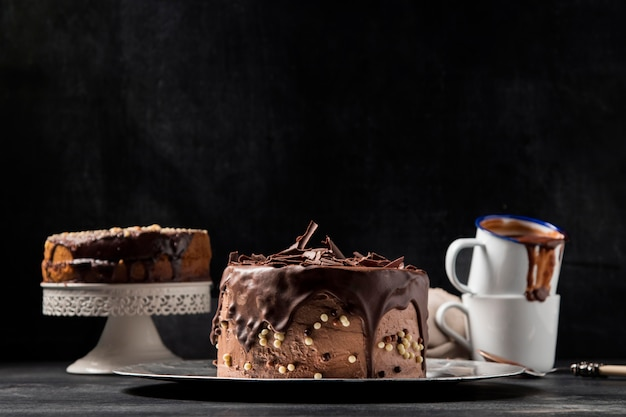 Close-up torta al cioccolato Foto Gratuite