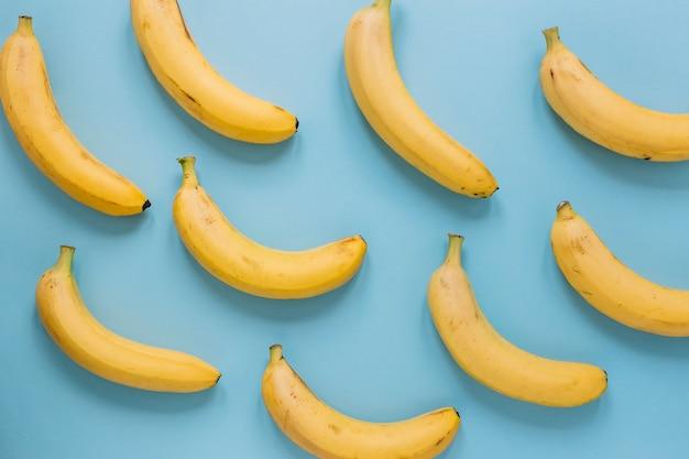 Collezione di banane mature Foto Gratuite