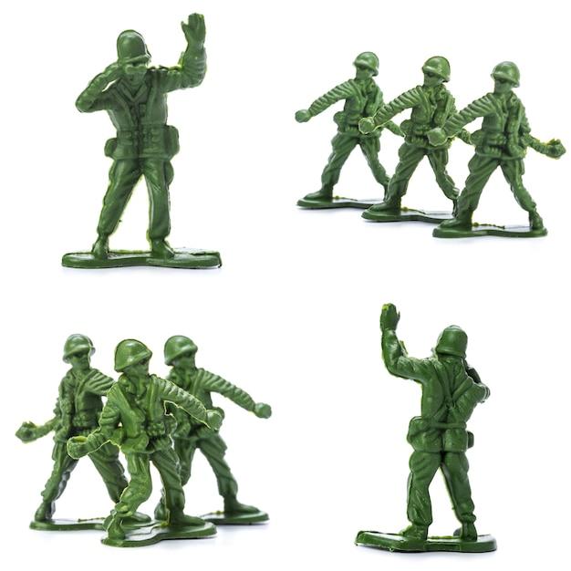 Collezione di soldatini tradizionali Foto Premium