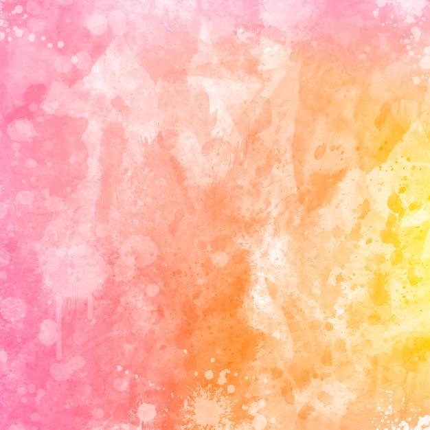 Colore Dellacqua Colore Rosa E Sfondo Giallo Scaricare Foto Gratis