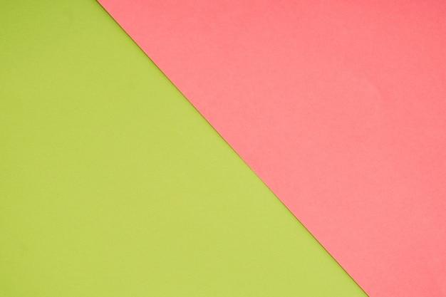 Colore Di Carta Pastello Verde E Rosa Per Sfondo Scaricare Foto