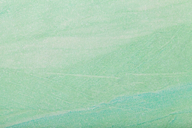 Colore verde chiaro del fondo di astrattismo. quadro multicolore su tela. Foto Premium
