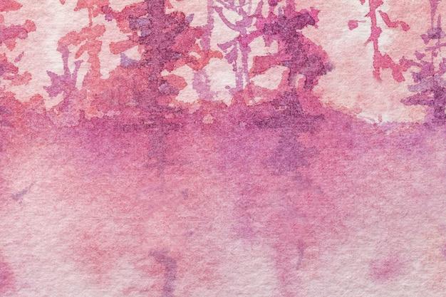 Colori porpora e rosa del fondo di astrattismo Foto Premium