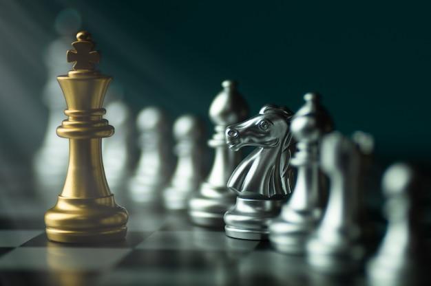Competizione di scacchi Foto Premium