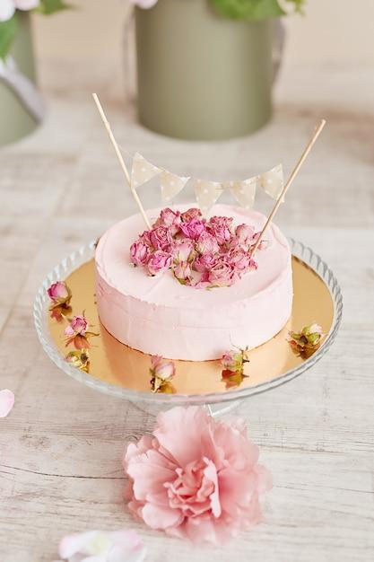 Compleanno 1 anno cake smash decor Foto Premium