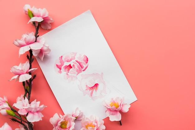 Composizione del nuovo anno cinese con la carta Foto Gratuite
