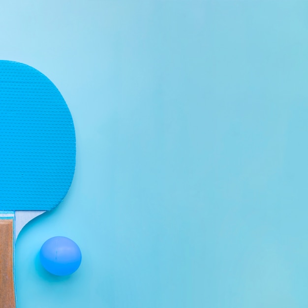 Composizione moderna di ping-pong Foto Gratuite