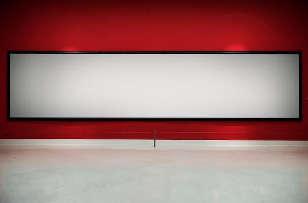Concetto antico del blocco per grafici della galleria di arte Foto Premium