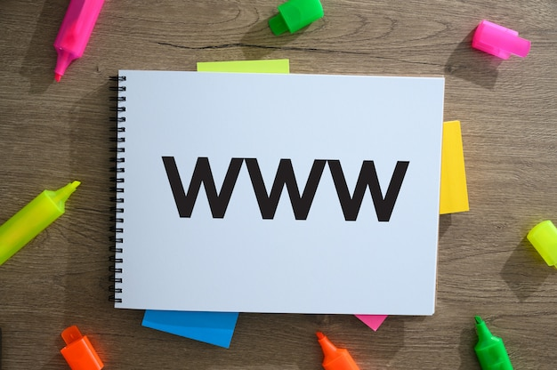 Concetto del sito web di web design Foto Premium