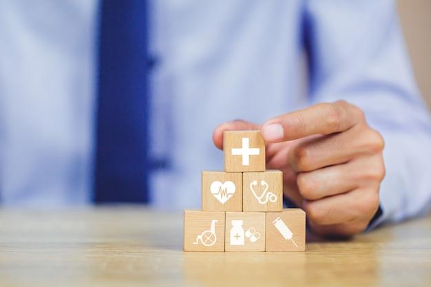 Concetto di assicurazione. Foto Premium
