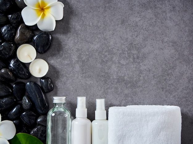 Concetto di massaggio spa e cura della pelle Foto Premium
