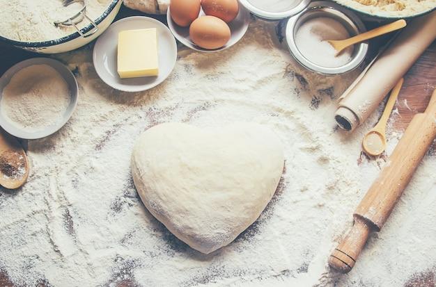 Concetto di pasticceria e cucina Foto Premium