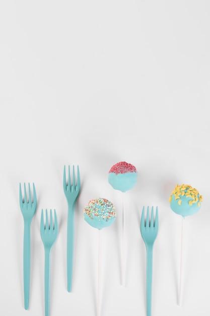 Concetto di pop torta creativa Foto Gratuite