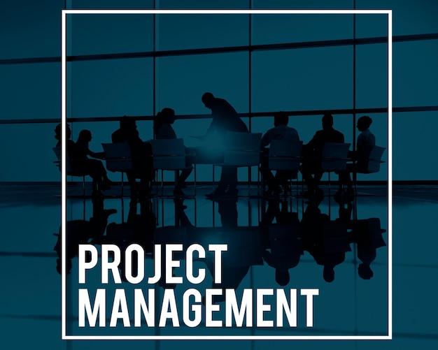 Concetto di processi di pianificazione del responsabile di gestione di progetto Foto Gratuite