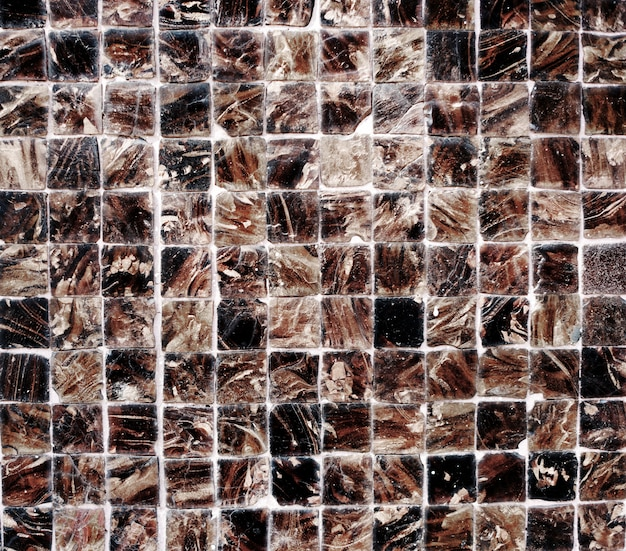 Concetto di struttura del fondo graffiato parete della piastrella di ceramica Foto Gratuite
