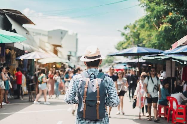 Concetto di viaggio di bangkok Foto Premium