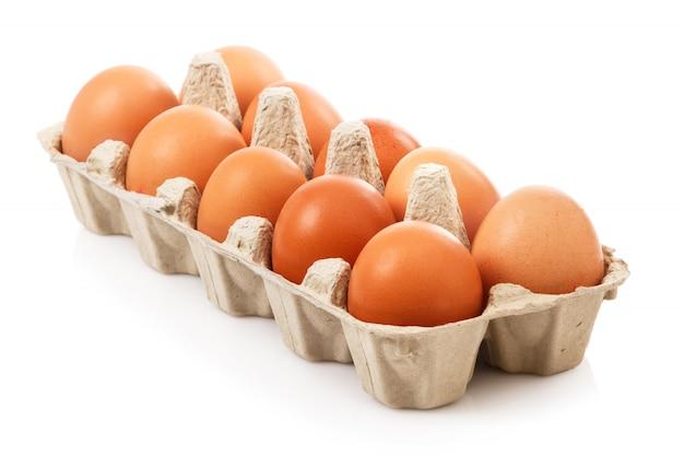 Confezione con uova Foto Premium