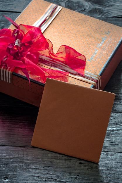Confezione regalo per san valentino Foto Gratuite