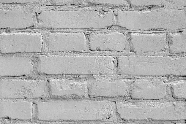 Consistenza del muro di mattoni bianchi. Foto Premium