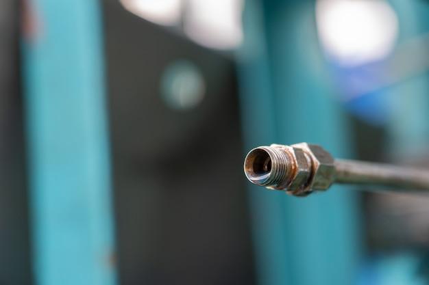 Controllo delle tubazioni di petrolio e gas Foto Premium