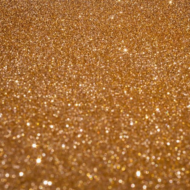 Copia spazio scintillante sfondo oro Foto Gratuite