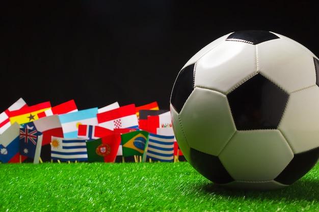 Coppa del mondo, russia 2018 Foto Premium