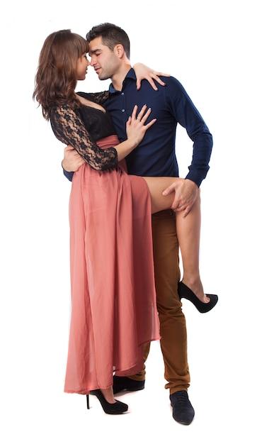 Coppia ballare il tango Foto Gratuite