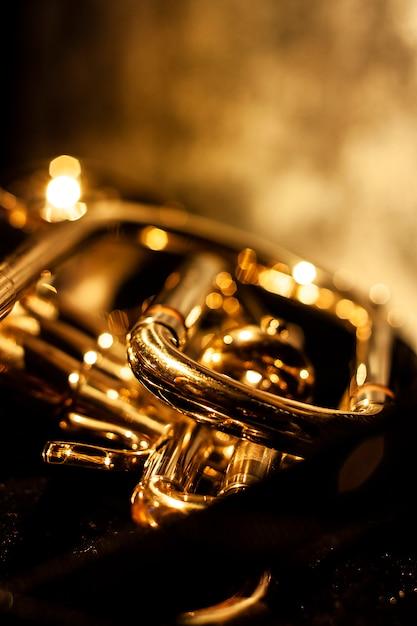Cornetta musicale classica Foto Premium