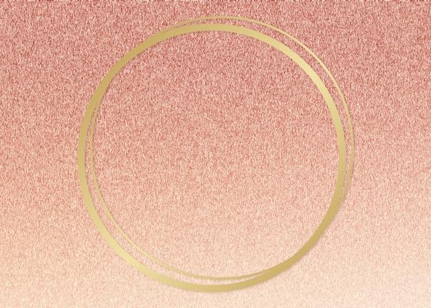 Cornice con cornice glitterata Foto Gratuite