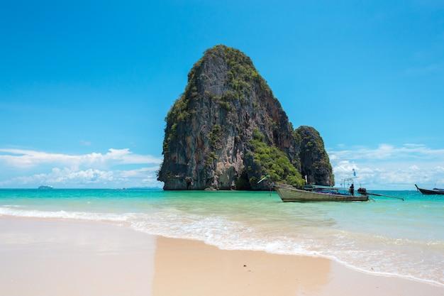 Costa tropicale, spiaggia Foto Premium