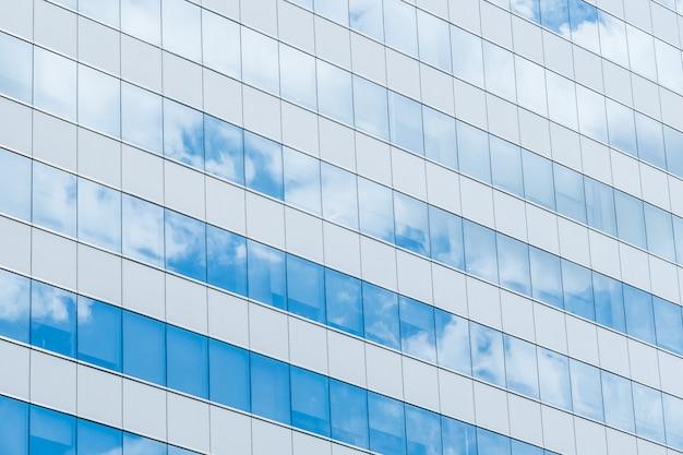 Costruire il vetro di riflessione Foto Gratuite