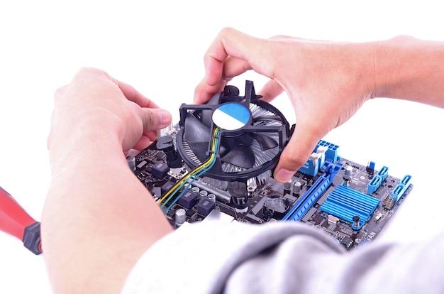 Costruisci computer Foto Premium