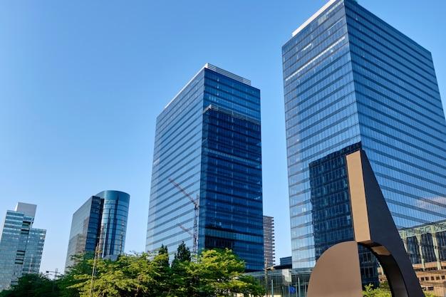 Costruzioni moderne a bruxelles, belgio Foto Premium